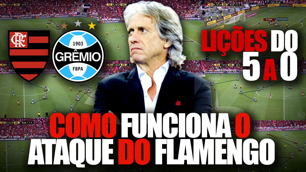 Como Funciona o Ataque do Flamengo