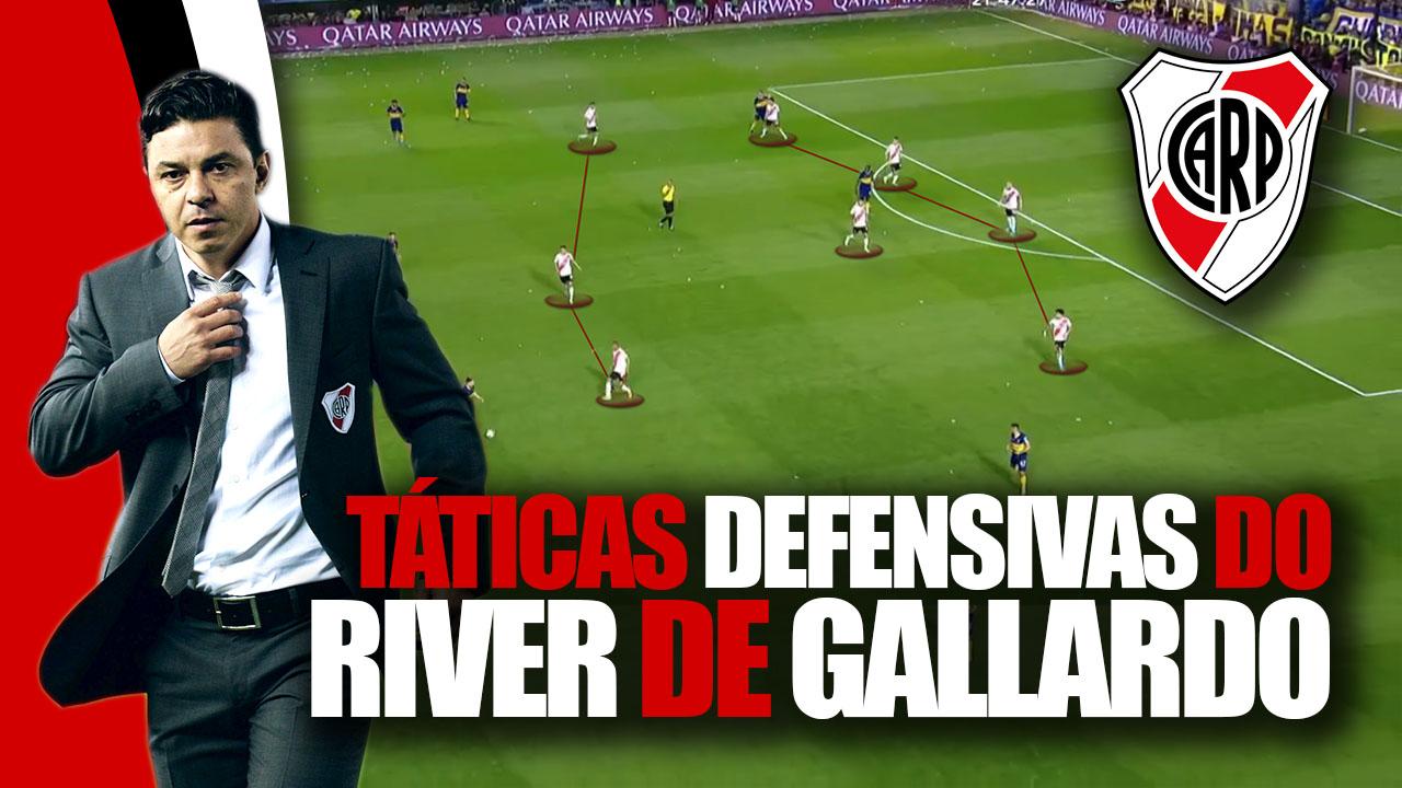 Táticas Defensivas do River de Gallardo