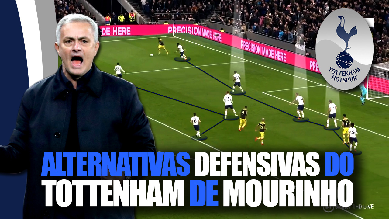 Alternativas Defensivas do Tottenham de Mourinho
