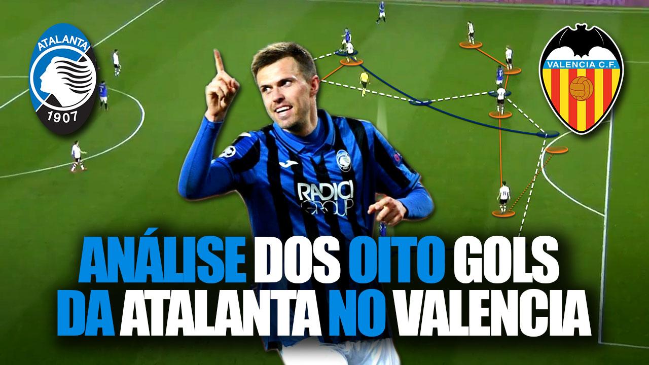 Oito Gols da Atalanta no Valencia
