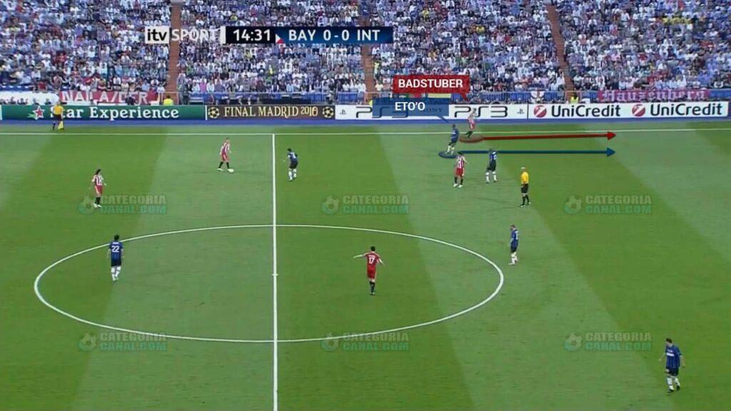 Inter de Mourinho - Extremos Recuados 2
