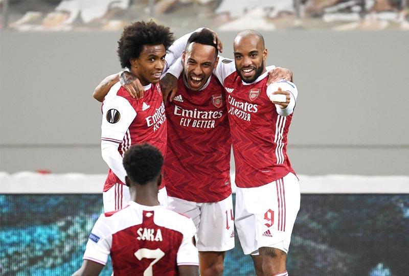 Arsenal 3 x 2 Benfica
