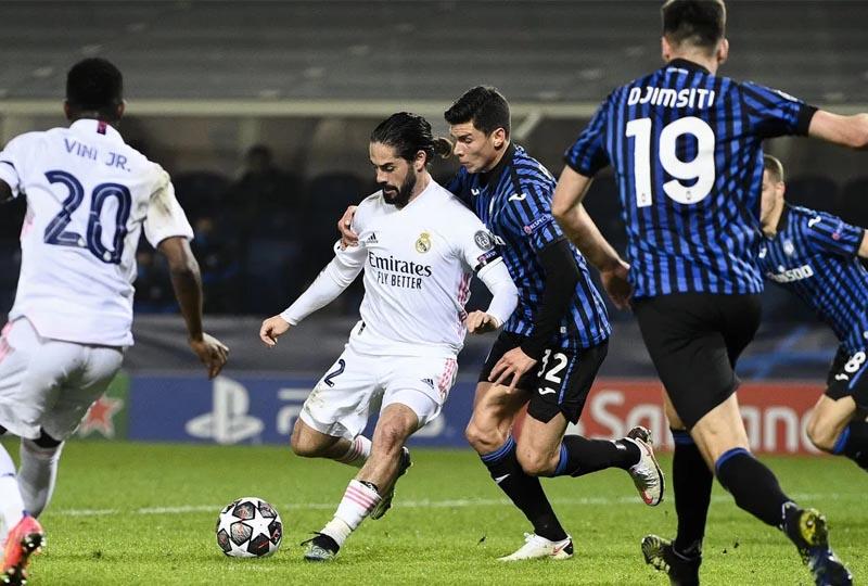 Atalanta 0 x 1 Real Madrid