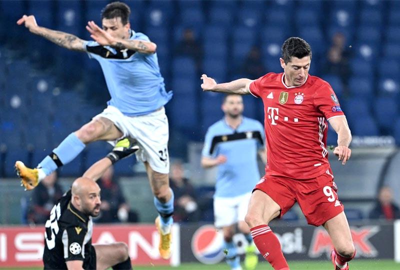 Lazio 1 x 4 Bayern