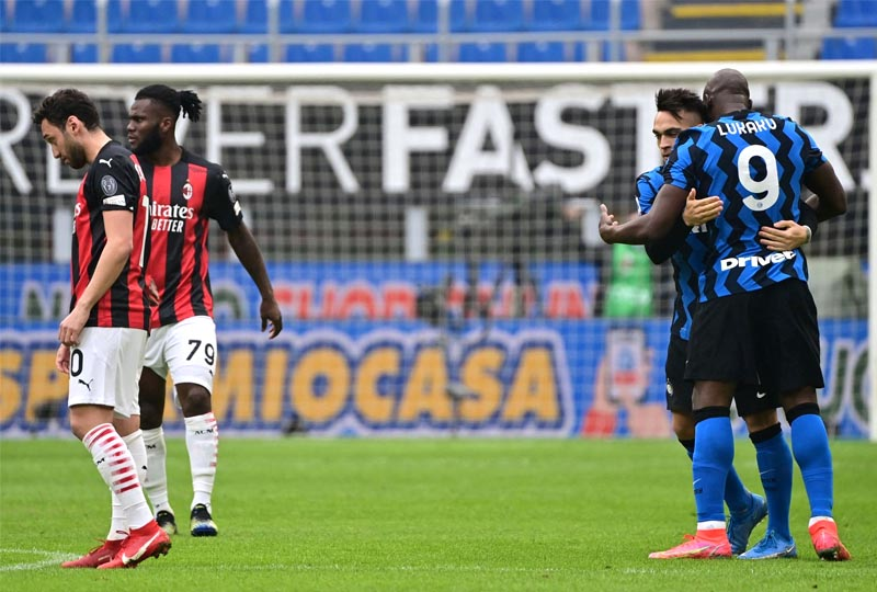 Milan 0 x 3 Inter