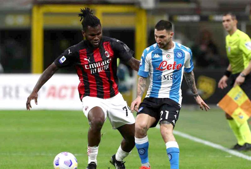 Milan 0 x 1 Napoli