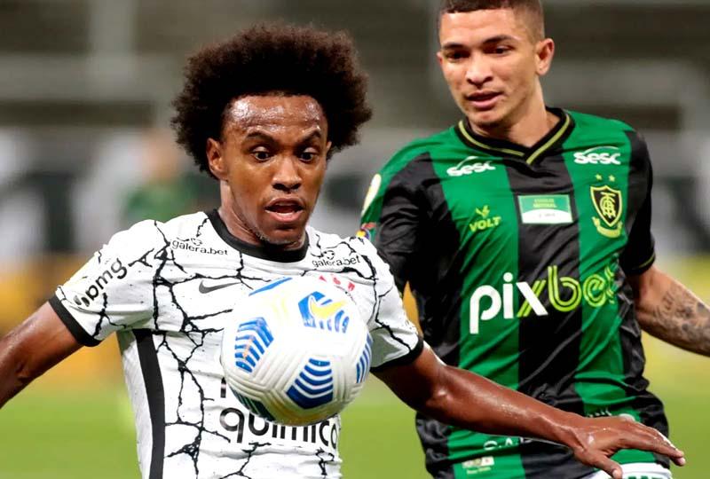 Corinthians 1 x 1 América-MG